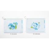 Option - DESIGN IVY Ggo deung o clear zip lock pouch