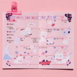 Usage example - After The Rain Love flavor twinkle deco sticker seal