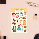Anne of green gables - Bookfriends My home removable deco sticker