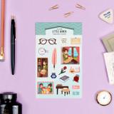 Little women - Bookfriends My home removable deco sticker
