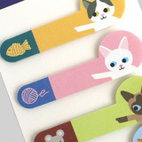 Bookfriends Double point index sticky bookmark set