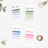 Bookfriends Colorchip double point index sticky bookmark