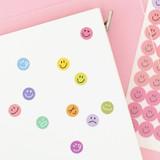 Usage example - PAPERIAN Color palette face deco sticker set