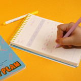Usage example - DESIGN GOMGOM Reeli 100days spiral bound study planner