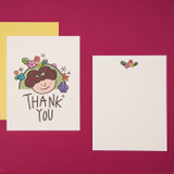 Thank you for my girl - Ardium Thank you color postcard