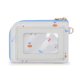 Back - BT21 Baby zipper card pocket wallet with leather sticker