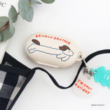 Brunch brother doggy - ROMANE Brunch Brother Galaxy Buds case cover