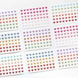 GMZ The Memo Heart my transparent deco sticker