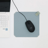 Usage example - loiloi PU coated cow leather two-way mouse pad