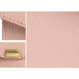 Detail of loiloi PU coated cow leather card pocket case