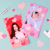 Usage example - Wanna This Heart large deco sticker set of 3 sheets