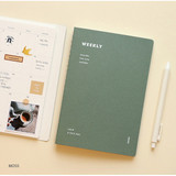 Moss - Indigo Have a nice day 6 months dateless weekly planner