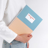 Indigo Prism 56 spiral bound B5 lined notebook