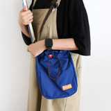 AZUL - ROMANE MonagustA nylon drawstring crossbody bag