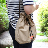 TIERRA - ROMANE MonagustA nylon drawstring crossbody bag