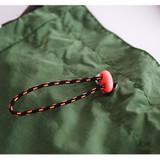 Drawstring closure - ROMANE MonagustA nylon drawstring crossbody bag