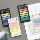 ICONIC Index sticky memo point bookmark set