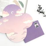 Bookfriends World literature folding letter 4 sheets set