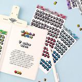 Usage example - Wanna This Kitsch kitsch lower case Alphabet sticker
