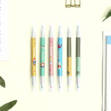 Bookfriends World literature double ended highlighter set