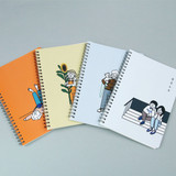 DESIGN GOMGOM My You Common days wire-bound lined notebook
