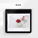 Black - 2NUL Instax wide slip in the pocket photo album