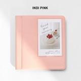 Indi Pink - 2NUL Instax mini slip in the pocket photo album