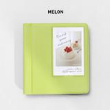 Melon - 2NUL Instax mini slip in the pocket photo album