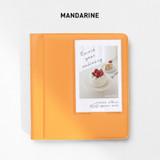 Mandarine - 2NUL Instax mini slip in the pocket photo album