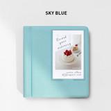 Sky Blue - 2NUL Instax mini slip in the pocket photo album