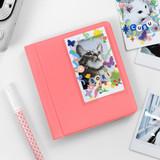 Coral pink - 2NUL Instax mini slip in the pocket photo album