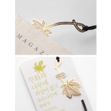 Fig tree - Bookfriends Plant 18K gold plated bookmark