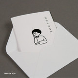 Think of you - DESIGN GOMGOM My You mini card and envelope set