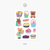 03. D-Day - Project object my juicy bear removable sticker