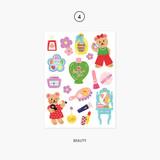 04. Beauty - Project object my juicy bear removable sticker