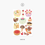 02. Sweet Me - Project object my juicy bear removable sticker