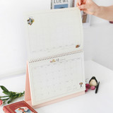 Standing calendar - Indigo 2021 Anne story monthly desk calendar