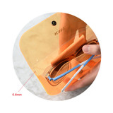 PVC - Play obje Sunny neon clear PVC glasses pouch