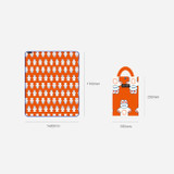 Size - ROMANE Cute Water-resistant picnic mat with bag