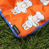 Label - ROMANE Cute Water-resistant picnic mat with bag