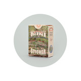 NACOO Claude Monet 2 Nympheas mini sticker pack