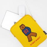 Donat Donat bear iPad tablet PC 11 inches sleeve case