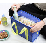 Usage example - Monopoly Air mesh insulated lunch tote bag