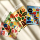 Design comma-B Big deco paper sticker