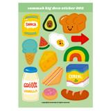 002 - Design comma-B Big deco paper sticker