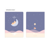 1. DREAMING DOGGY - PLEPLE 2021 Chou Chou dated weekly planner scheduler