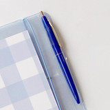 Pen holder - Jam Studio Square 6-ring A6 wide dateless monthly planner