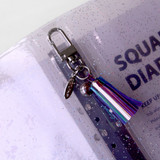 Keyring tab -  Jam Studio Square 6-ring A6 wide dateless monthly planner