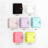 Color - 2NUL Profile 3 ring small diary notebook