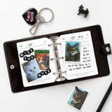 Usage example - 2NUL Profile 3 ring small diary notebook